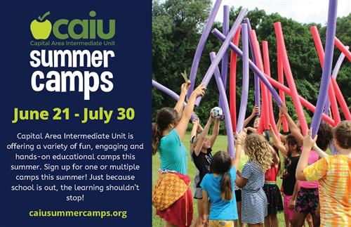 CAIU Summer Camps June 21-July 30