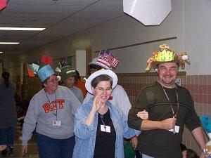 teachers parade
