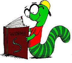 Book worm picture