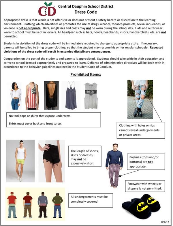 General Information / Appearance & Dress, Dress Code