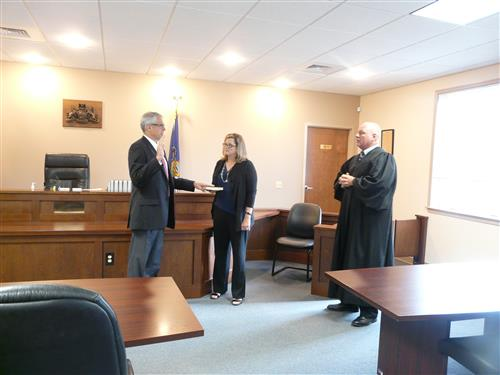 Superintendent Swearing In Ceremony