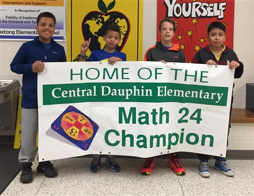 Paxtang is home to the Math 24 Champion