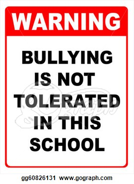 bullying not tolerated
