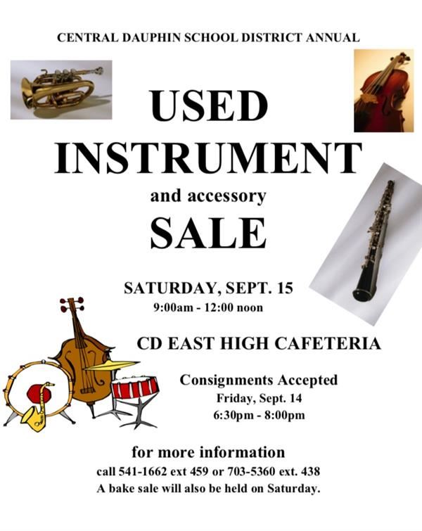 Used Instrument Sale